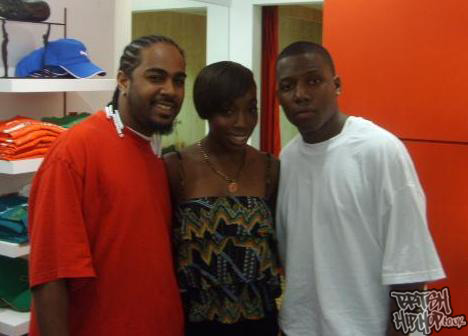Tizzle and Streetz And Estelle