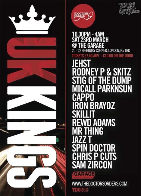 UK Kings - Saturday 23rd March 2013