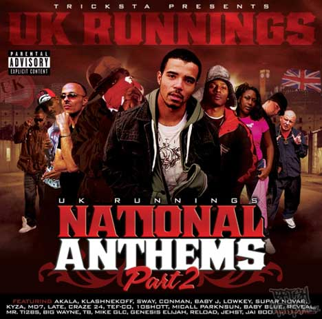 Tricksta Presents UK Runnings - National Anthems Part Two CD [Wolftown]