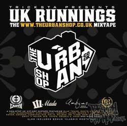 UK Runnings - The Urban Shop Mixtape CD [Wolftown]
