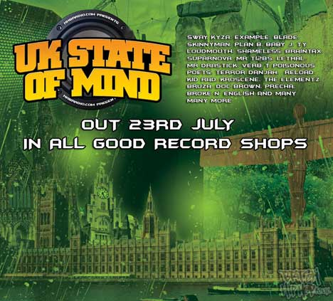 HHBRadio.com - UK State Of Mind - mixed by Lunatrix & DJ Vokal CD [HHB]