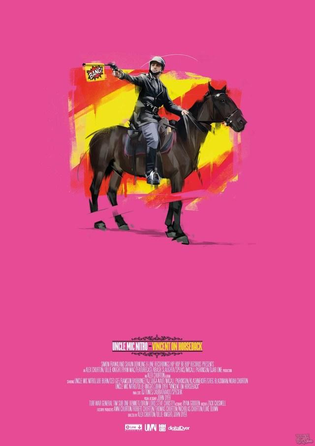 Uncle Mic Nitro - Vincent on Horseback