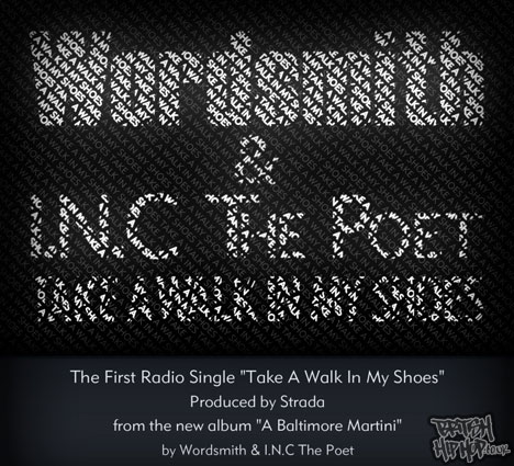 "Wordsmith And I.N.C The Poet - Take A Walk In My Shoes 12"" [Nu Revolution Ent.]"