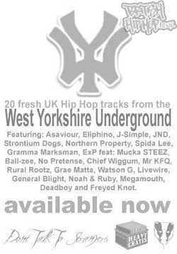 Don't Talk To Strangers presents: WY (West Yorkshire Mix CD) CD [Heavy Crates]
