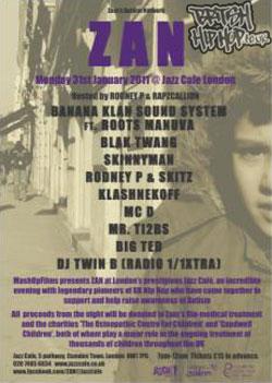Zain's Autism Network Features Pioneers Of UK Hip Hop 31/01/2011