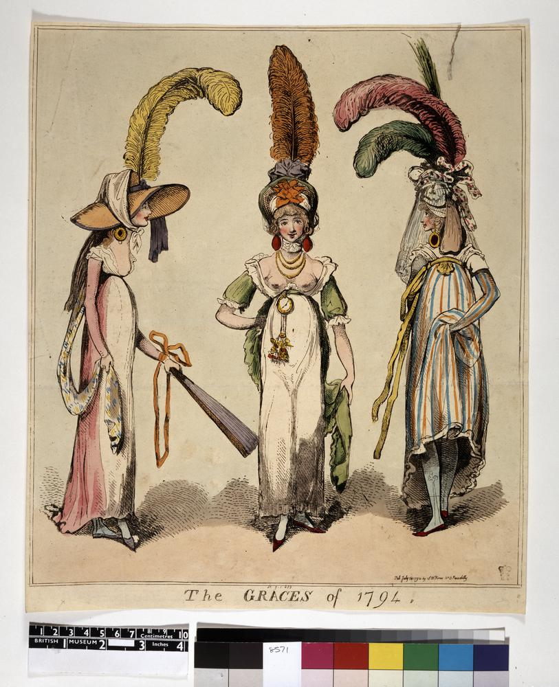 FOR DESCRIPTION SEE GEORGE (BMSat).  1794Hand-coloured etching