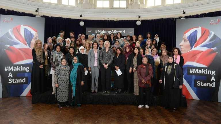 Muslim women make a stand against I.S