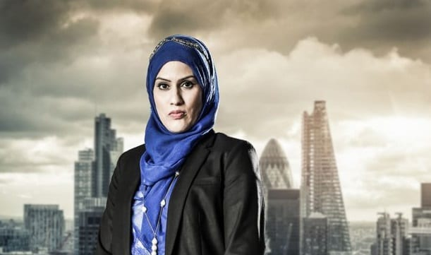Peterborough's Nuran Ahmed in BBC's The Apprentice