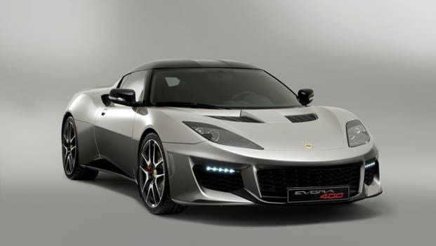 The all new Lotus Evora 400