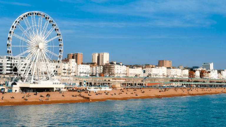 A trip around Brighton this Spring
