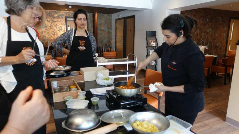 Cookery Classes with Award winning chef Dipna Anand at Brilliant Restaurant, Southall