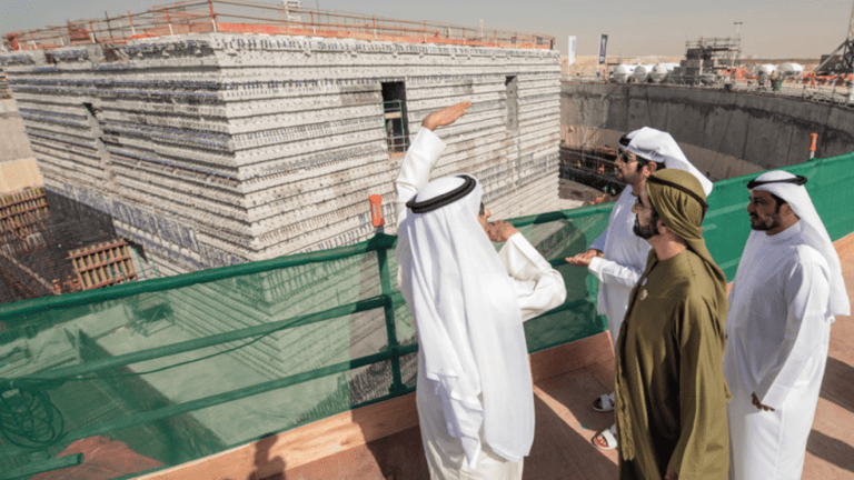 HH Sheikh Mohammed bin Rashid reviews progress of Dubai Creek Tower