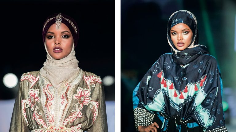 Donning the hijab as a fashion statement internationally