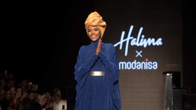 Halima Aden's headscarf collection unveiled