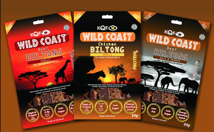 NEW HALAL BILTONG RANGE FROM KQF
