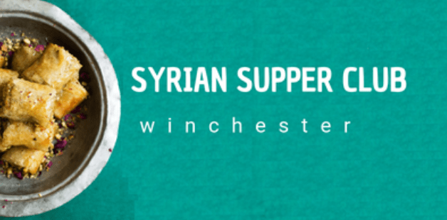 Syrian Supper Club Winchester September 2019
