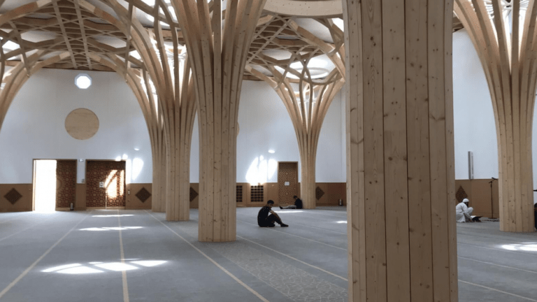 Cambridge open's the doors to Europe's first sustainable Mosque