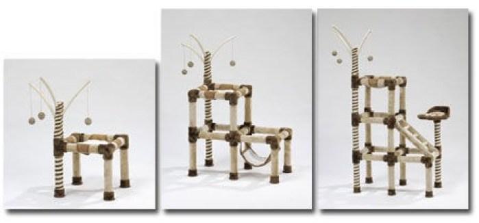 fabriquer un arbre a chat sciences jeux est passionn d 39 animaux alors tout naturellement ils. Black Bedroom Furniture Sets. Home Design Ideas