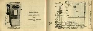 Old Telephone Diagram
