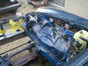 Jake Voelckers' MGB  Buick 35L V8 Engine Conversion