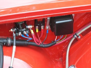 Larry Rembold's 1962 Volvo P1800 with Ford 289 V8