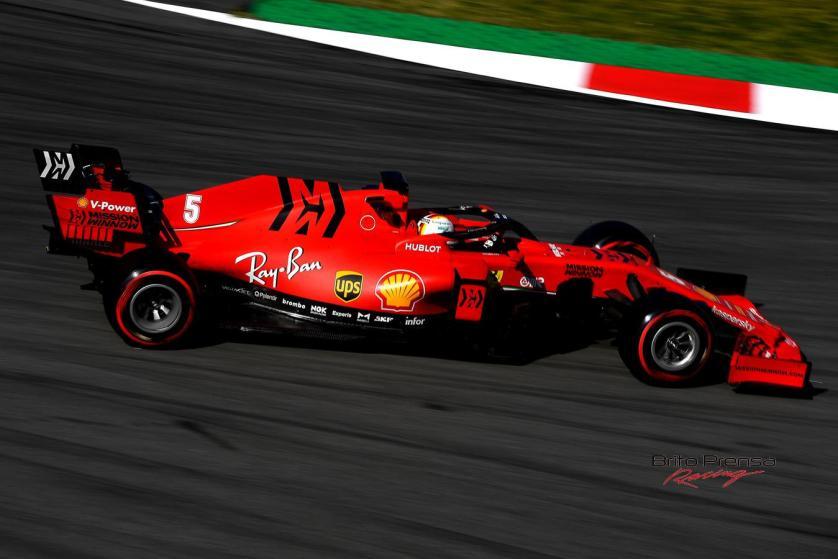 Vettel se centra en Ferrari