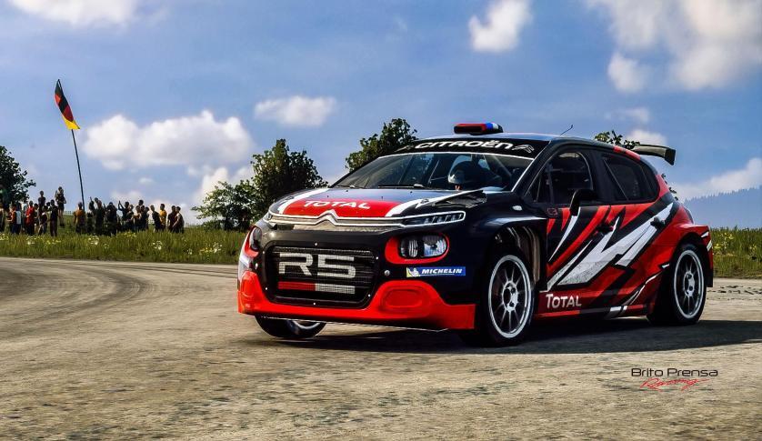 En Junio vuelve la competición en Citroën Racing con #PLAYWITHC3R5