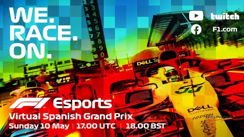 La F1 Esports Pro Exhibition race precederá al Gran Premio Virtual