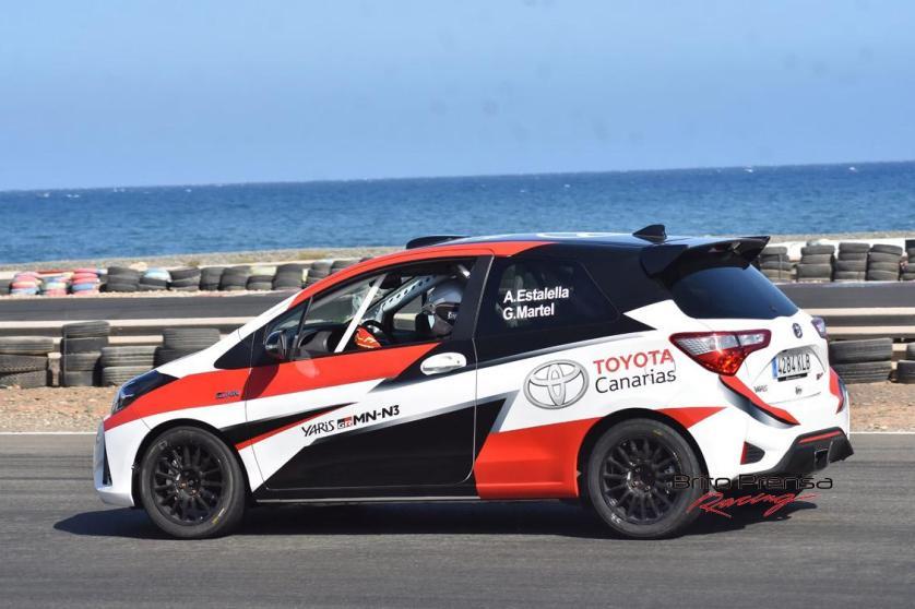 Toyota Canarias regresa a los rallys con Antonio Estalella y el Yaris GRMN