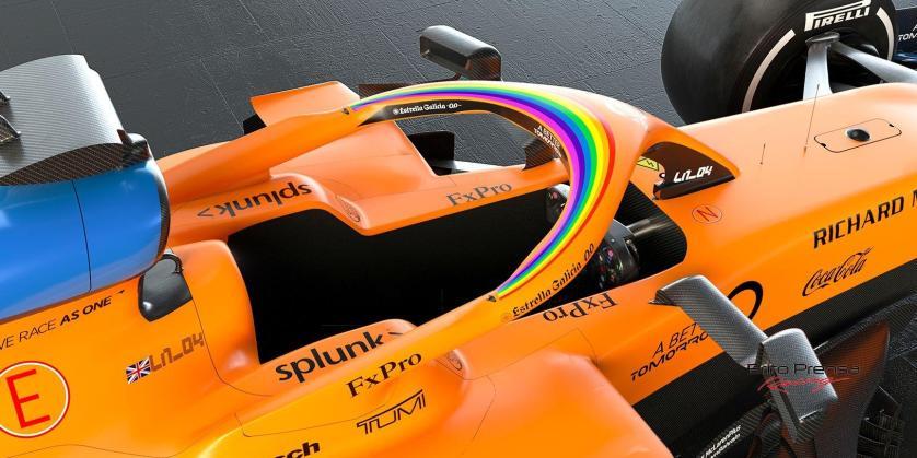 McLaren Racing apoya la campaña #WeRaceAsOne de Fórmula 1