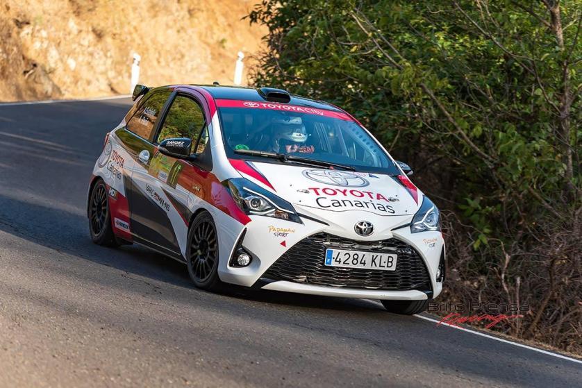 Victoria en el grupo N3 para Antonio Estalella y Antonio Peña con el Toyota Yaris GRMN