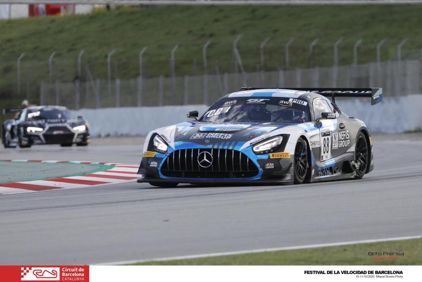 Weerts y Vanthoor se proclaman campeones de la Sprint Cup del GT World Challenge Europe