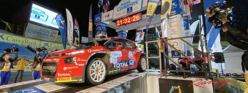 El Estadio de Gran Canaria dio el banderazo de salida al 44 Rally Islas Canarias
