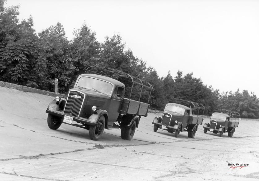 90 años del Opel Blitz