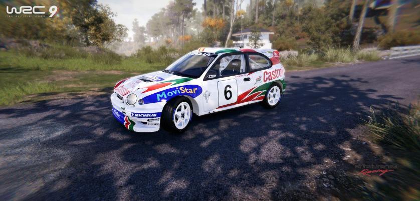 El Toyota Corolla WRC, basado en la octava generación del modelo más vendido del mundo