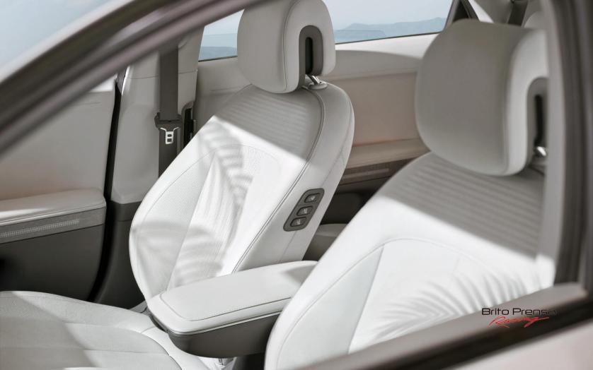 El concepto 'Living Space' del Hyundai Ioniq 5 , se extiende por todo el interior