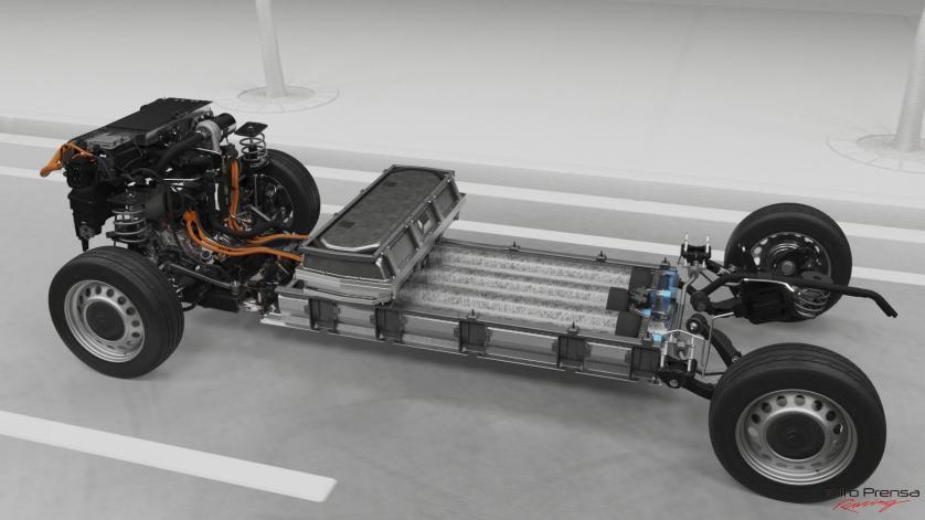 El ë-Jumpy Hydrogen, primer modelo de Citroën de pila de combustible y baterías recargables