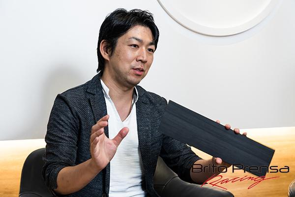 El diseñador principal Hideki Tago