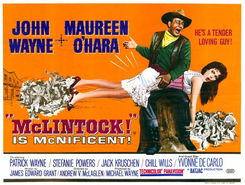 Image result for McClintock! film
