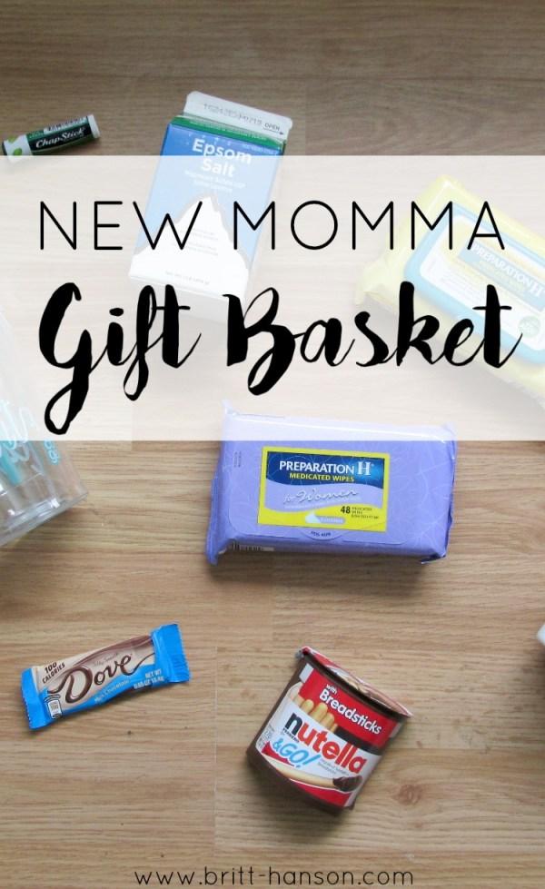 New Momma Gift Basket