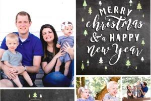 Hanson Family Christmas Card 2016