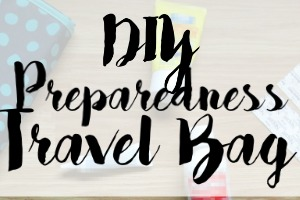 DIY Preparedness Travel Bag