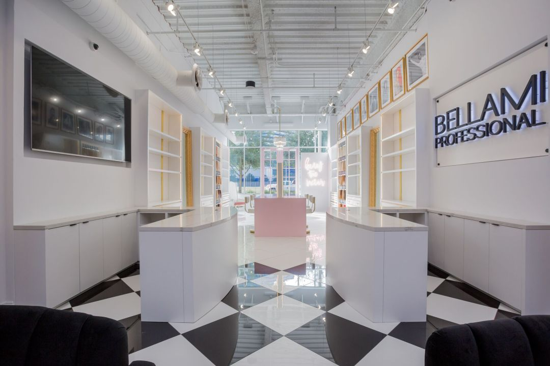 BE experiential Retail Beauty Bar Design