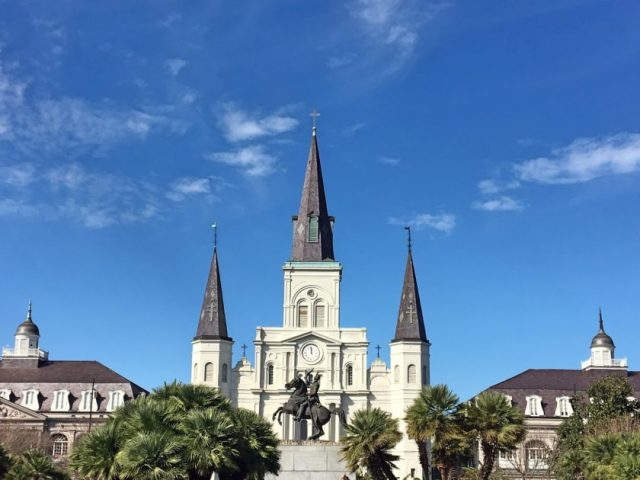 St Louis Cathedral 2
