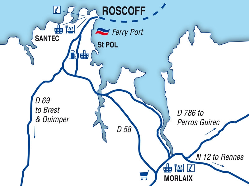Roscoff Port Guide Brittany Ferries