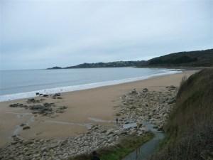 Beach at Beg Leguer Lannion