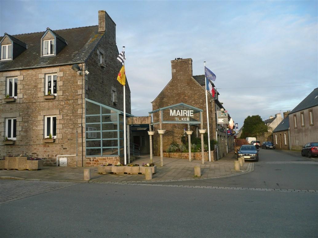 Mayors office Ploumilliau Brittany
