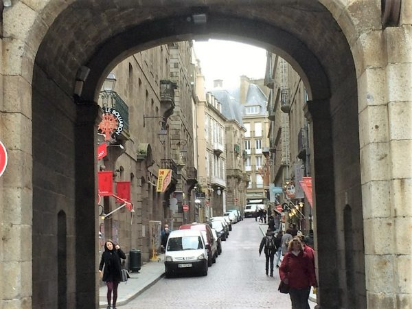 Saint Malo City old-town