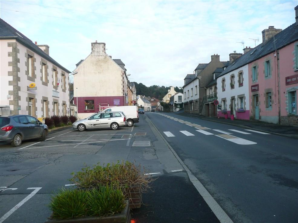 Town Michel-en-Grève in Brittan