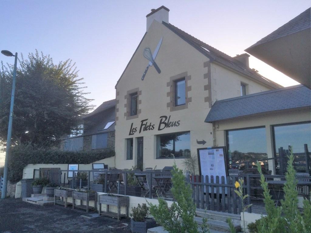 Les filets Bleus restaurant Pointe de Sehar, Tredrez-Locquemeau Brittany